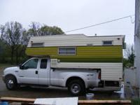 11.5 Pickup camper, Stove, ref, air, furnance,