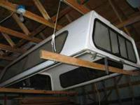 White Pickup Topper to fit a 1992 Chevrolet WT long box