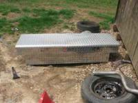 I have a diamond plate toolbox from tractor supply for