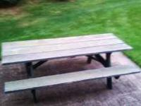 Solid Wood Pentagon Picnic Table Moving In Days For Sale In - Pentagon picnic table