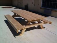 GREAT  PICNIC TABLES HEAVY DUTY OVER SIZE, GREAT FOR