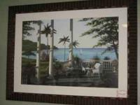 ***NEW*** Art - Caribean Comfort Large Picture w/