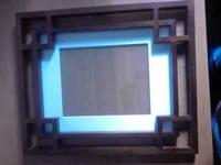 Brown Picture Frame with white mat. Brandy   Location: