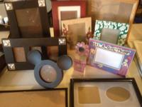 Lot of various picture frames.  $1 to $5 each or all
