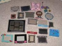 Multiple picture frames for sale. There are a total of