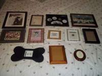 OK i have a box full of stuff tons of picture frames,