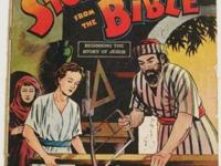 1944 DC PICTURE STORIES FROM THE BIBLE COMICS# 1 NEW