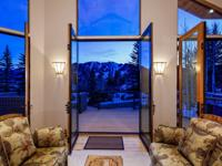 Set at the very end of Aspen's prestigious Ridge Road,