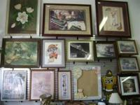 Come and see our selection of pictures and empty frames
