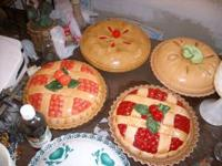pie dishes. $15.00 each. Please do not e-mail. I am