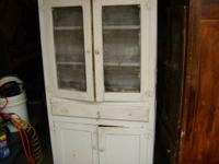 Old pie safe needs some work 150.00