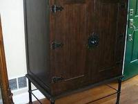 I'M SELLING THIS BEAUTIFUL AND UNIQUE ARMOIRE/ TV