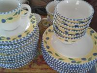 BEAUTIFUL dishes show signs of use, but still a very