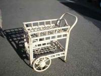 Bamboo serving cart from Pier One,excellant condition