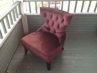 I am selling a very cool chair from Pier One originally