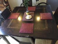 Pier One Dining Table And 4 Chairs. Table Is Beautiful.
