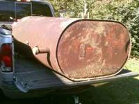 This is a used 275 Gallon Home heating oil tank. It's