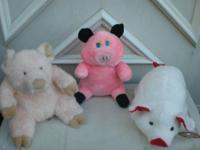 I have several misc pig stuffed animals. All of them