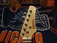 Pignose Guitar, one of a kind. Electric, new strings.