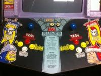 For sale is a dedicated original PIGSKIN 621 AD arcade