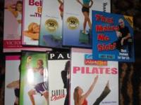 Winsor Pilates Fitness Workout DVDs - $40 for the