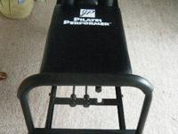 JP PILATES PERFORMER FITNESS MACHINE w/attached legs in