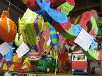 Visit our huge choice of unfilled pinatas. $10.95 each