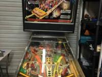 """Williams Comet"" Pinball Machine The Comet game was"