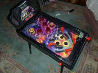 Small Pinball system just the right size for kids.