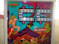 Pinball Machine, 4 player Jungle Queen. A real classic,