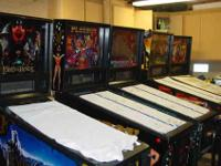 I have a number of pinball machines for sale. They have