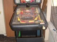 Pinball Machine, will let it go cheap for $40.00 have