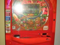 It's a slightly used Oriental Pinball machine made by