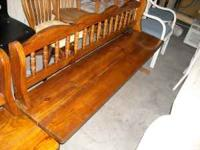 Pine bench $59 Pine chairs $25 EACH Delivery available