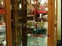 Pine Curio Cabinet Price $495.00 US Description Great