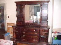 ETHAN ALLEN OLD TAVERN PINE TRIPLE DRESSER WITH