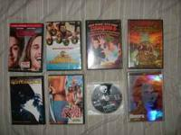 I have the following DVD'S for sale. all are in almost