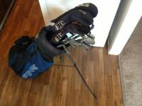 PING GOLF CLUBS FULL COLLECTION OF IRONS WITH WEDGES,