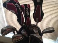 Awesome set of Ping I10 irons and G15 drivers. Bought