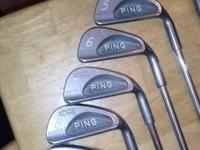 Sounding Karsten I Red Dot Irons. 3-9, New Black Widow