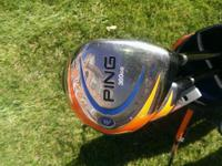"Ping Moxie Junior golf clubs 41"" to 30"" Driver, 3wood,"
