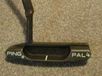 Here is a Ping Pal 4 Copper putter that is excellent