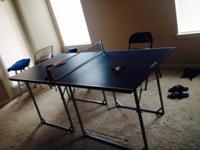 I am selling my fantastic table tennis (ping pong)