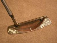 For sale is a right handed 351/2 inch Ping Zing 2
