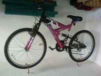 I have a nice 24 inch girls bike for sale. It was my