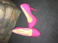 I have a pair of pink patent leather 6inch platform
