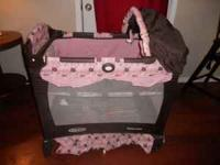 Graco Pack N Play With Bassinet Meridian Old
