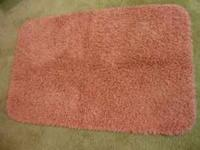 Pink bath set: Garland Fiesta Shag Bath Rugs Pink