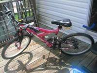 NEW BIKE, JUST RODE IT 1 TIME. LOOKING TO BUY A HYBRID