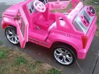 I have a fisher price pink Cadillac Barbie truck with a